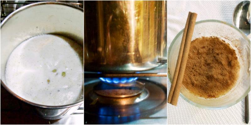 εύκολο ρυζόγαλο με κάρδαμο και κανέλα