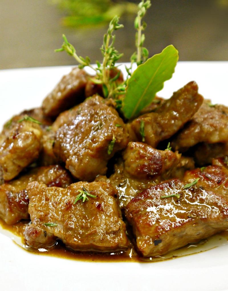 τηγανιά με χοιρινό - η συνταγή του ένδοξου μεζέ
