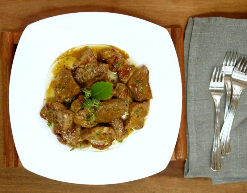 εύκολη τηγανιά με χοιρινό - η συνταγή του ένδοξου μεζέ