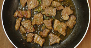 κλασική εύκολη τηγανιά με χοιρινό - η συνταγή του ένδοξου μεζέ