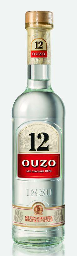 OUZO 12 συνοδεία στο τζατζίκι