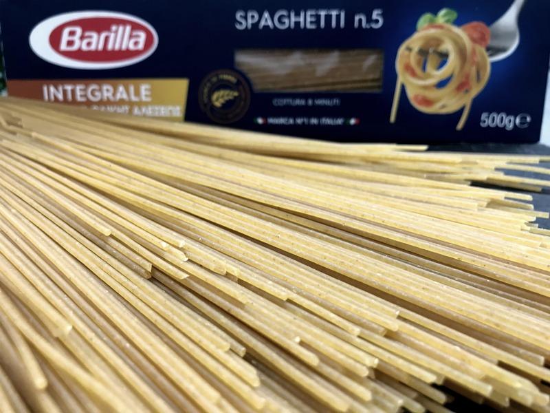 Σπαγγέτι ολικής άλεσης No 5 Barilla
