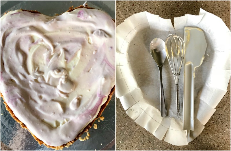 τάρτα με κεράσια σε σαβαγιάρ με κρέμα ντιπλομάτ