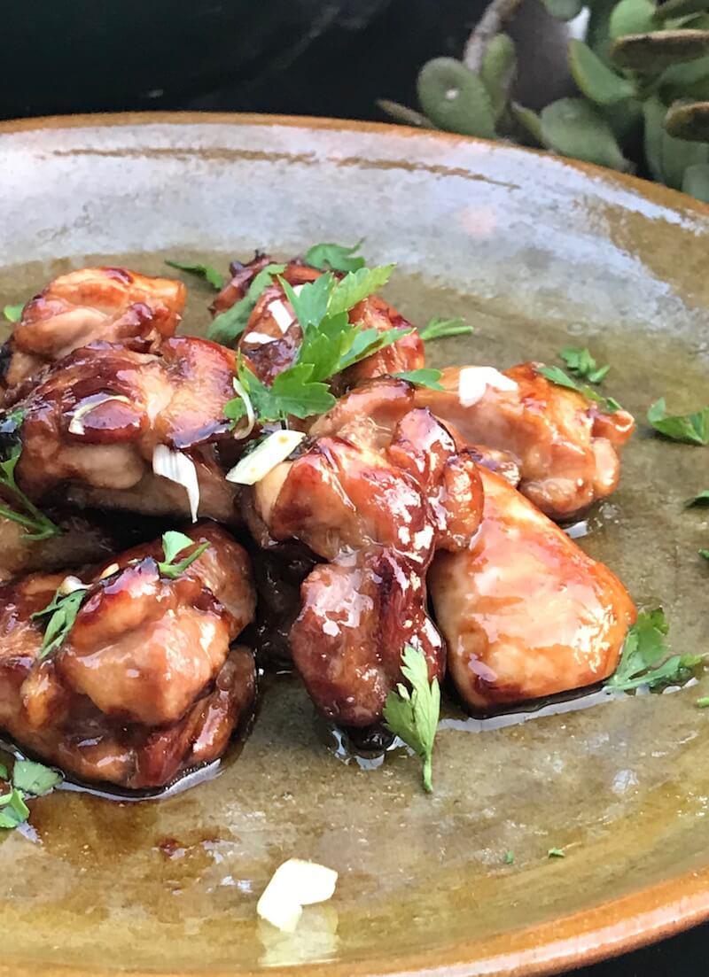 αυθεντικό κοτόπουλο τεριγιάκι σε 10 λεπτά