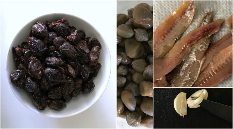 κλασική γαλλική ταπενάντ - η πάστα μαύρης ελιάς εκ Προβηγκίας