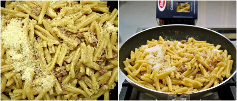 ζυμαρικά με σάλτσα λουκάνικου – μακαρόνια με λουκάνικο