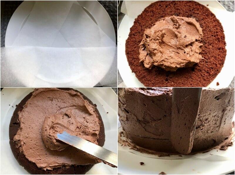 εύκολο & εντυπωσιακό vegan κέικ - τούρτα σοκολάτας