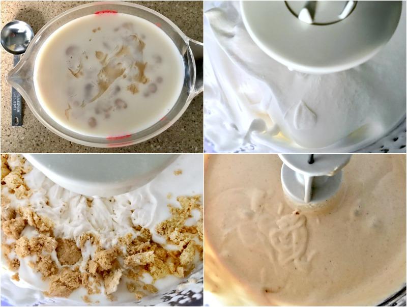 τούρτα χαλβά νηστίσιμη - vegan κρέμα χαλβά