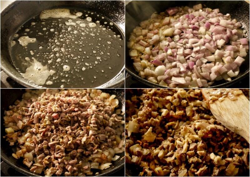 γέμιση για κρεατόπιτα με αρνί - πίτα του βοσκού - shepherd's pie