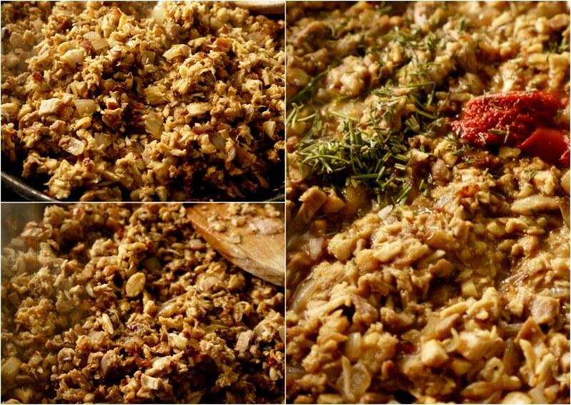 ετοιμάζοντας κρεατόπιτα με αρνί - shepherd's pie