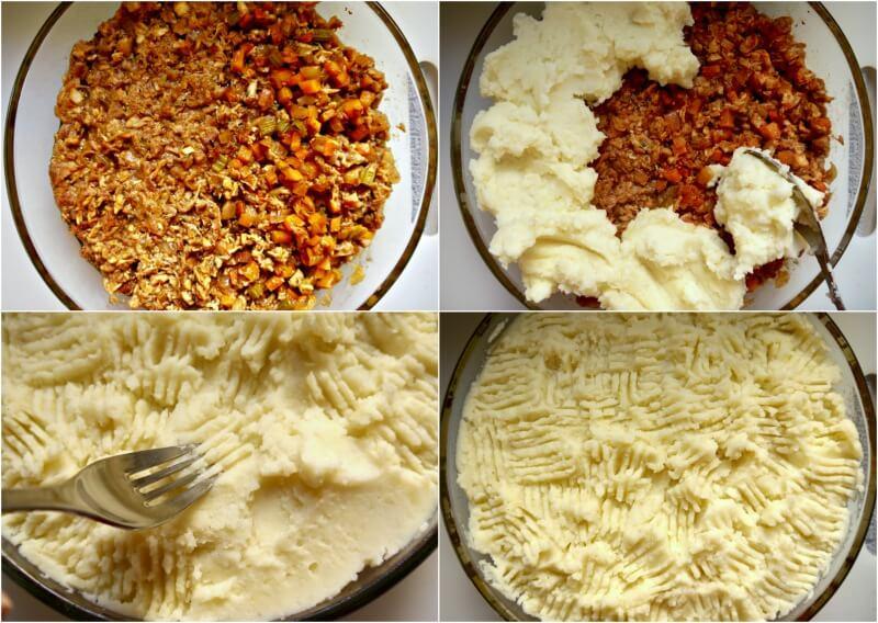 κρεατόπιτα με αρνί και πουρέ πατάτας - shepherd's pie