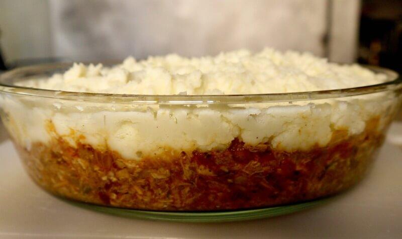 κρεατόπιτα με αρνί ή πίτα του βοσκού - shepherd's pie
