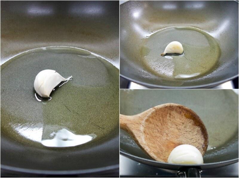 σκόρδο στα σπαγγέτι με κολοκυθάκια