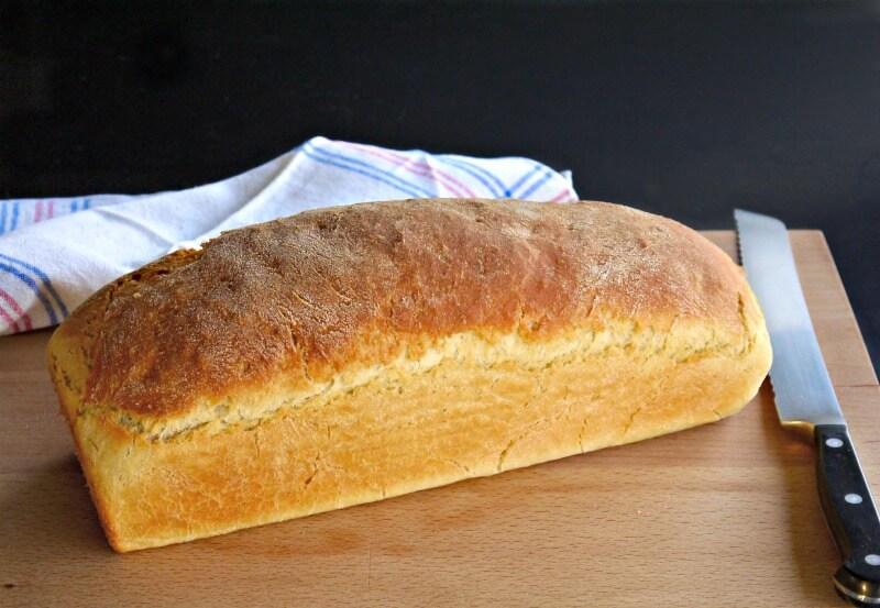 σιμιγδαλένιο ψωμί από 100% σιμιγδάλι