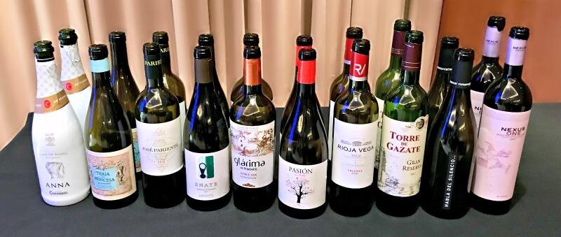 Όλα τα ισπανικά κρασιά της δοκιμής
