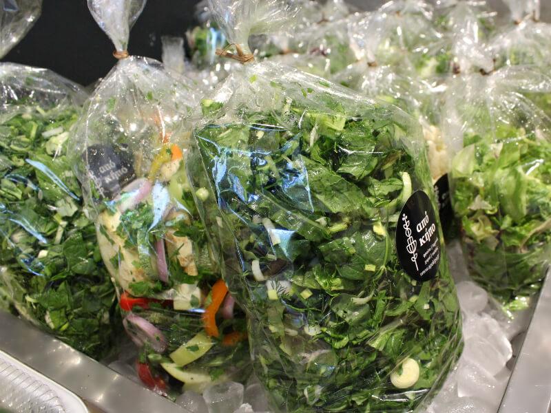 Σαλάτες από Κήπο