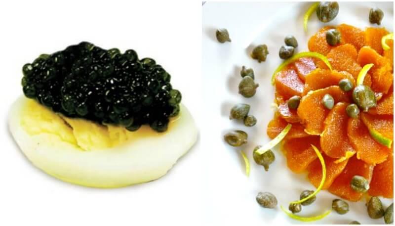 Ψαροφαγία - χαβιάρι & αβγοτάραχο