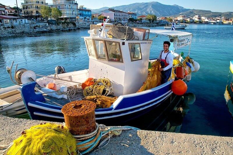 Ψάρεμα - βάρκα
