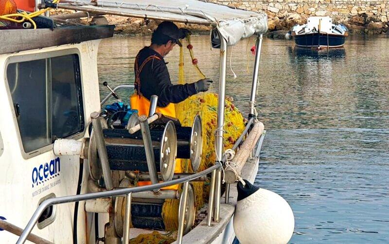 Ψάρεμα - τράτα, Δονούσα - φωτό: Jim Kall
