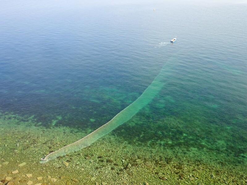 ψάρεμα - δίχτυα απλάδια