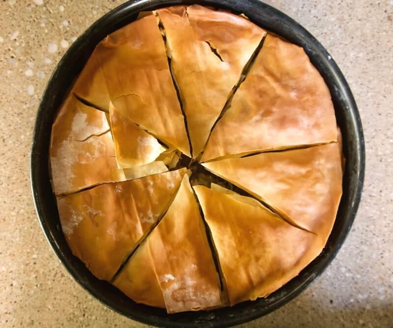 Τραγανή πίτα με κιμά