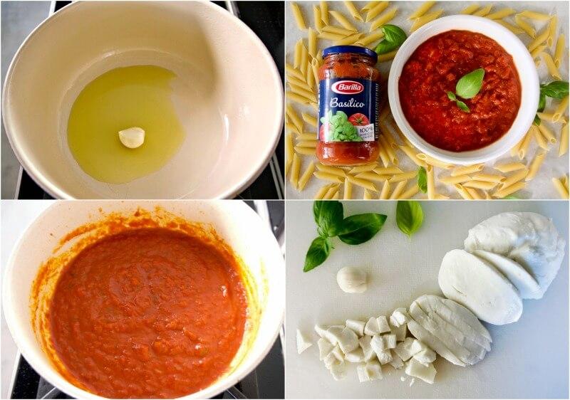 σάλτσα ντομάτας με βασιλικό