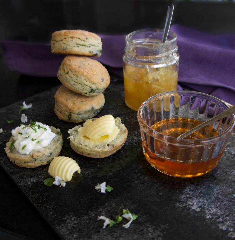 scones αλμυρά με πατάτα χωρίς ζάχαρη