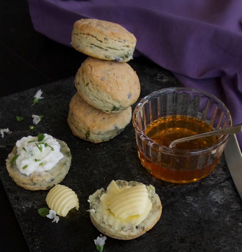Scones με πατάτα χωρίς ζάχαρη - για αλμυρούς και γλυκους συνδυασμούς