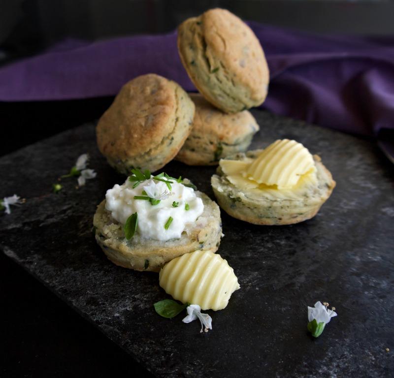 Scones με πατάτα για αλμυρόγλυκους συνδυασμούς
