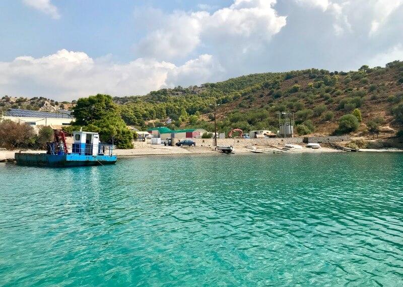 Ιχθυοκαλλιέργεια ελληνικού ψαριού - Fish from Greece - περιβάλλον