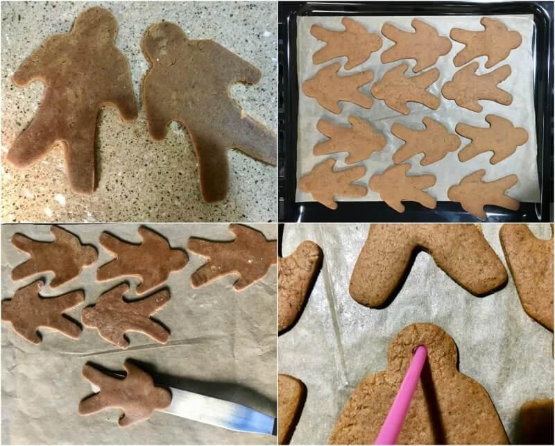 μπισκότα gingerbread ανθρωπάκια (χωρίς αυγά)