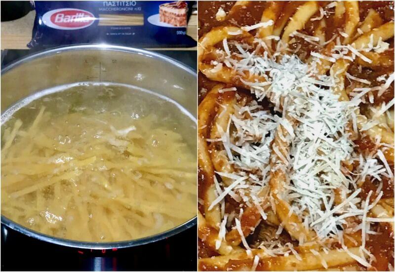 παστίτσιο μακαρόνια με κρέας ραγού, αυθεντικό ναπολιτάνικο - ιταλικές συνταγές