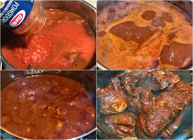 σάλτσα κρέατος για ναπολιτάνικο ραγού με μακαρόνια παστίτσιο - ιταλική συνταγή