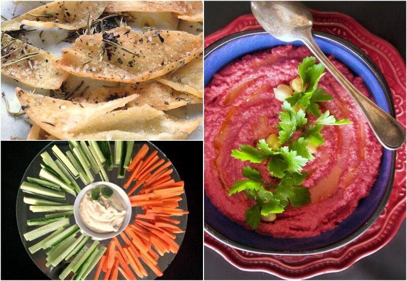 Με τι τρώγεται το χούμους - χούμους με ρεβίθια και παντζάρι - hummus παντζάρι