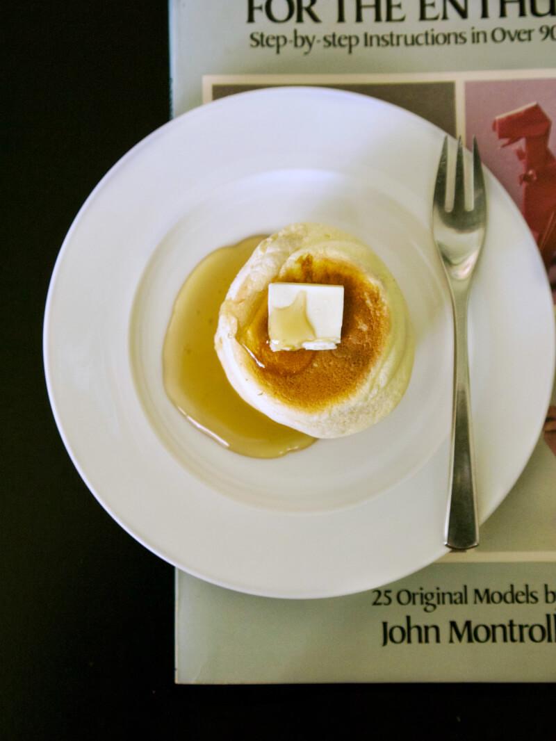 Αφράτες γιαπωνέζικες τηγανίτες σουφλέ - ιαπωνικά pancakes