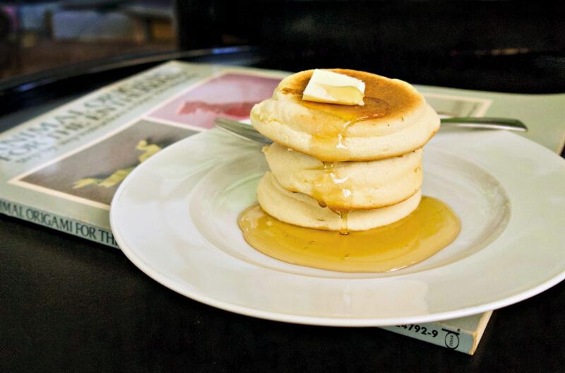 αφράτα γιαπωνέζικα pancakes σουφλέ - japanese pancakes