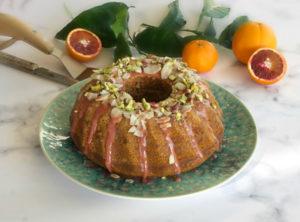 κέικ πορτοκάλι, σανγκουίνι, μανταρίνι νηστίσιμο