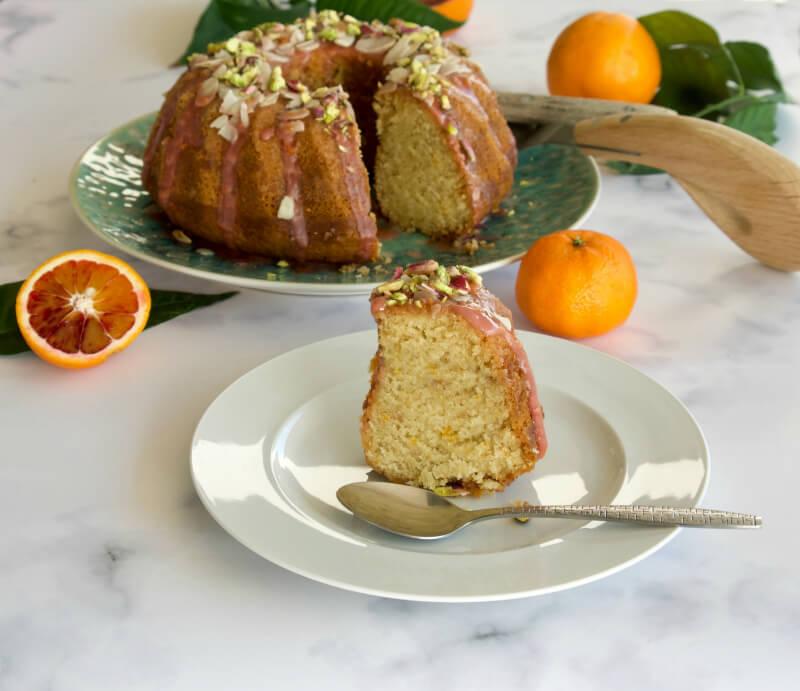 Αφράτο, ζουμερό, εύκολο κέικ πορτοκάλι, σανγκουίνι, μανταρίνι χωρίς μίξερ, νηστίσιμο