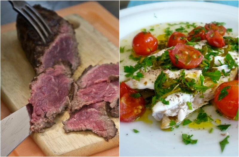 ψάρι vs. κρέας - ποιο είναι καλύτερο;