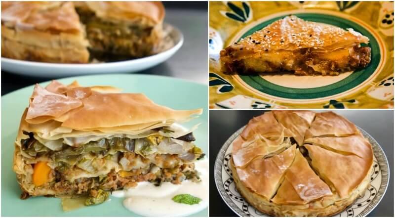 Πάσχα χωρίς κρέας για το χορτοφαγικό τραπέζι: πίτες
