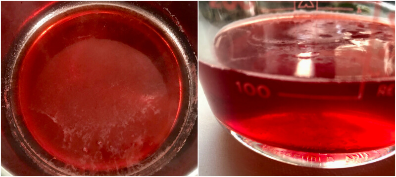 Συμπυκνωμένο, πολύ αρωματικό σιρόπι φράουλας