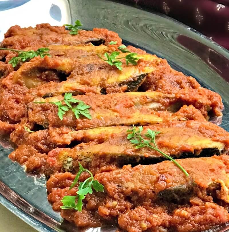Κρανιός ψάρι (φέτα) σε εύκολο και γρήγορο κάρι
