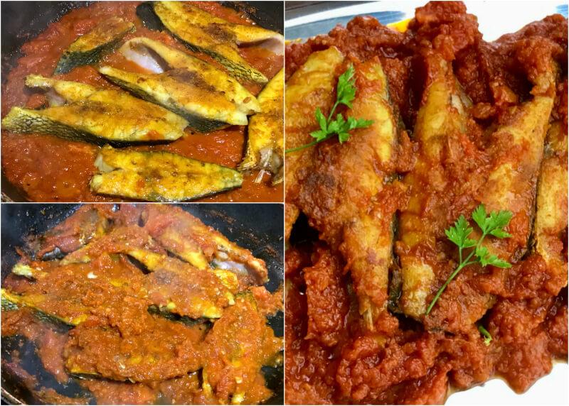 Κρανιός κάρι ή ψάρι φέτες στις γεύσεις της Βεγγάλης