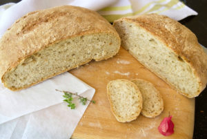 Ψωμί χωρίς ζύμωμα, έτοιμο σε 3.5 ώρες