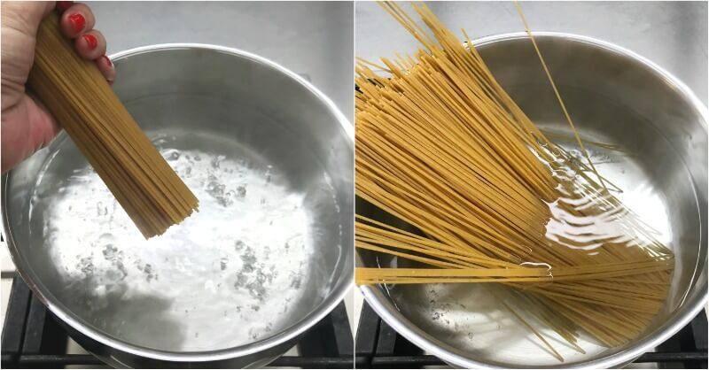 Ολικής αλέσεως Spaghetti Integrale Barilla, βράσιμο