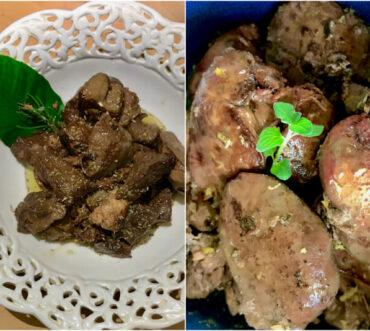 Συκωτάκια κότας λεμονάτα με ρίγανη σε 10 λεπτά