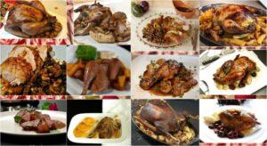 Χριστουγεννιάτικο τραπέζι: top-12 πιάτα με πουλερικά