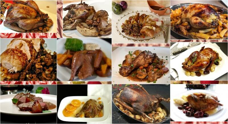 Τop-12 πιάτα με πουλερικά για το χριστουγεννιάτικο ή πρωτοχρονιάτικο γιορτινό τραπέζι